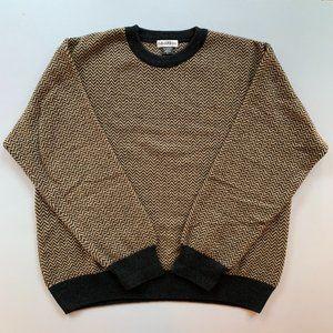 Bullock & Jones Men's Crewneck Wool/Angora Sweater